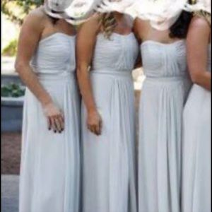 Vivian diamond bridesmaid dress